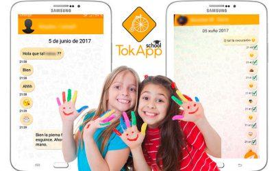 ¿Qué haces si tu hijo te coge el móvil con TokApp?
