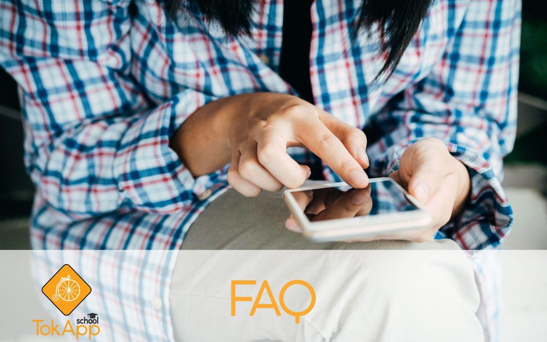 7 soluciones a los problemas más comunes usando TokApp School