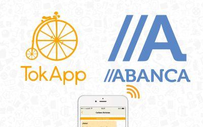 ABANCA apoya TokApp para acelerar su estrategia de negocio y crecimiento