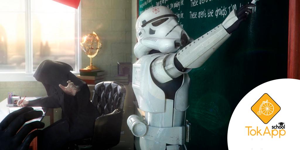 Star Wars en los coles: imágenes inspiradoras para profes muy fans