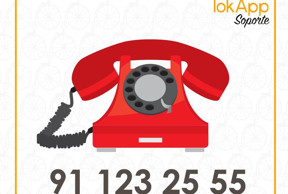 Teléfono directo para ayuda y soporte técnico: 91 123 25 55