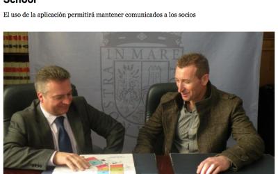 Los socios de la biblioteca de Marín podrán usar TokApp School