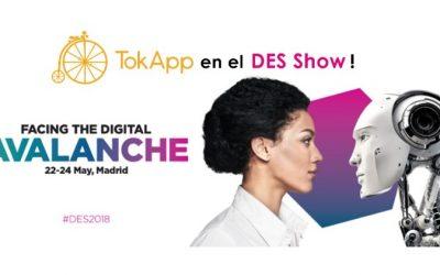 TokApp en DES: Así es el Congreso Mundial de Digitalización