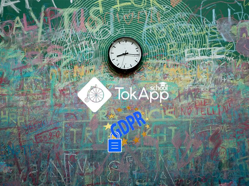 tokapp colegio gdpr