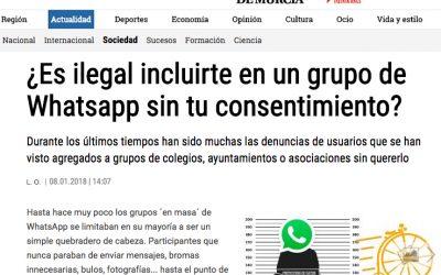 Legalidad con TokApp, Opinión de Murcia