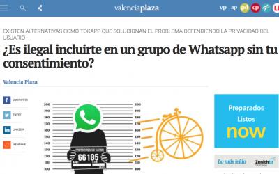 TokApp en Valencia Plaza