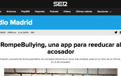 RompeBullying de TokApp en Cadena Ser