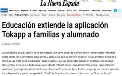TokApp en la Concejalia de Educacion de Aviles