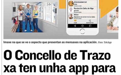 TokApp en el Concello de Trazo
