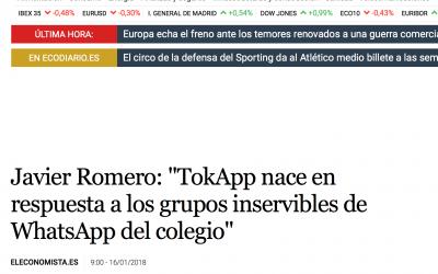 TokApp en elEconomista