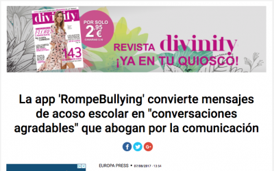 RompeBullying de TokApp en Telecinco