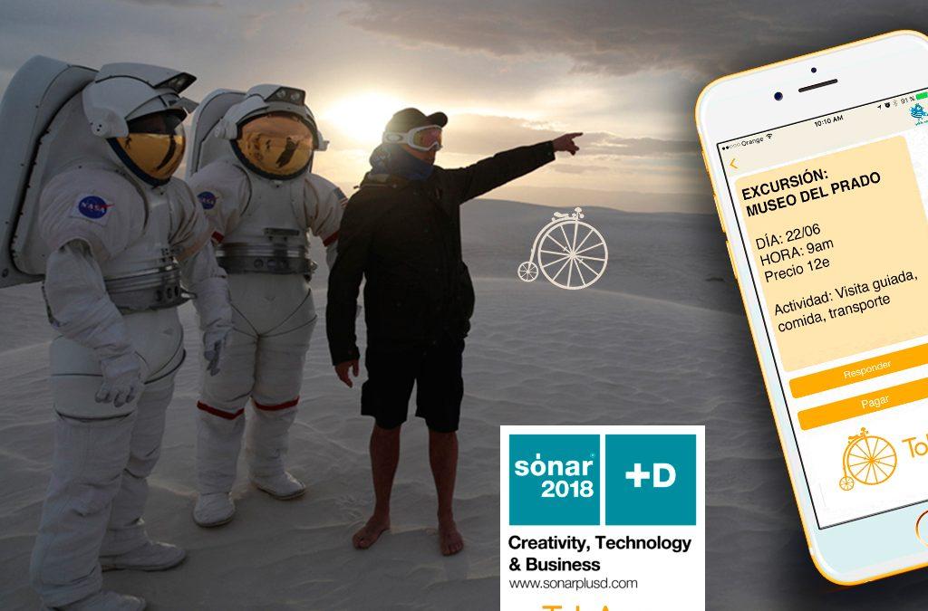 TokApp en Sonar+D: Mucho más que música
