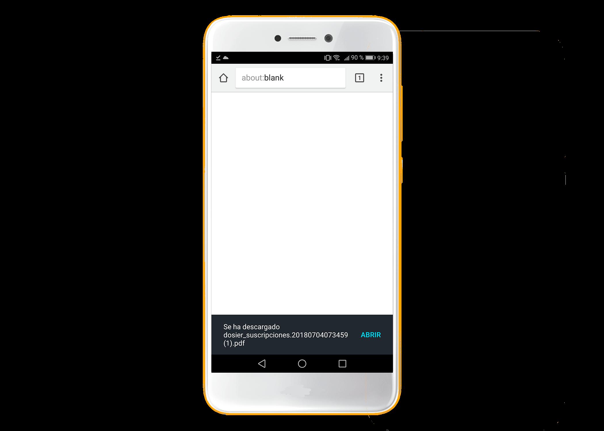 Abrir PDF en móvil iOS o Android. Abrir o enviar un PDF con TokApp