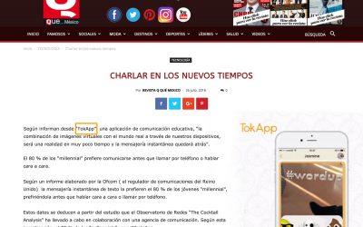 TokApp en Qué… México