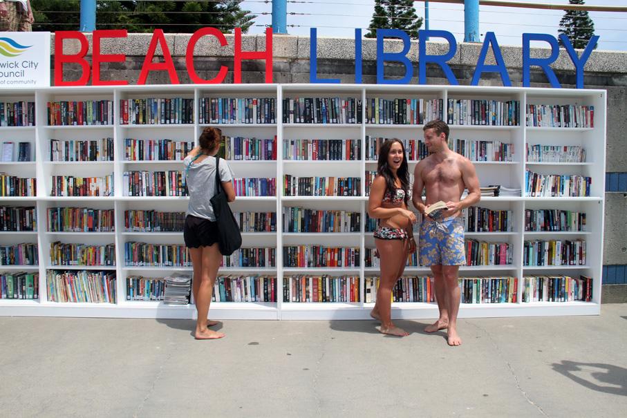 playa con biblioteca en Randwick Australia