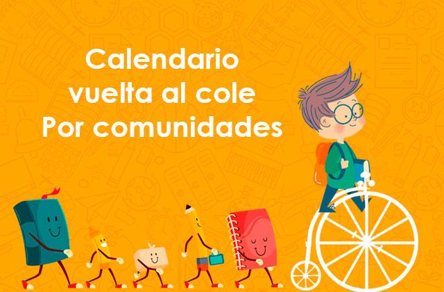 Cuándo empiezan los coles: Calendario por Comunidades