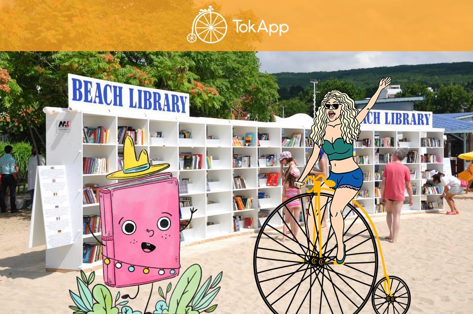 7 playas con biblioteca para leer libros sin límites