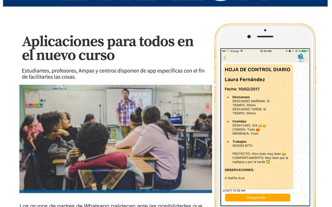 Nuevo curso con TokApp – La Razon