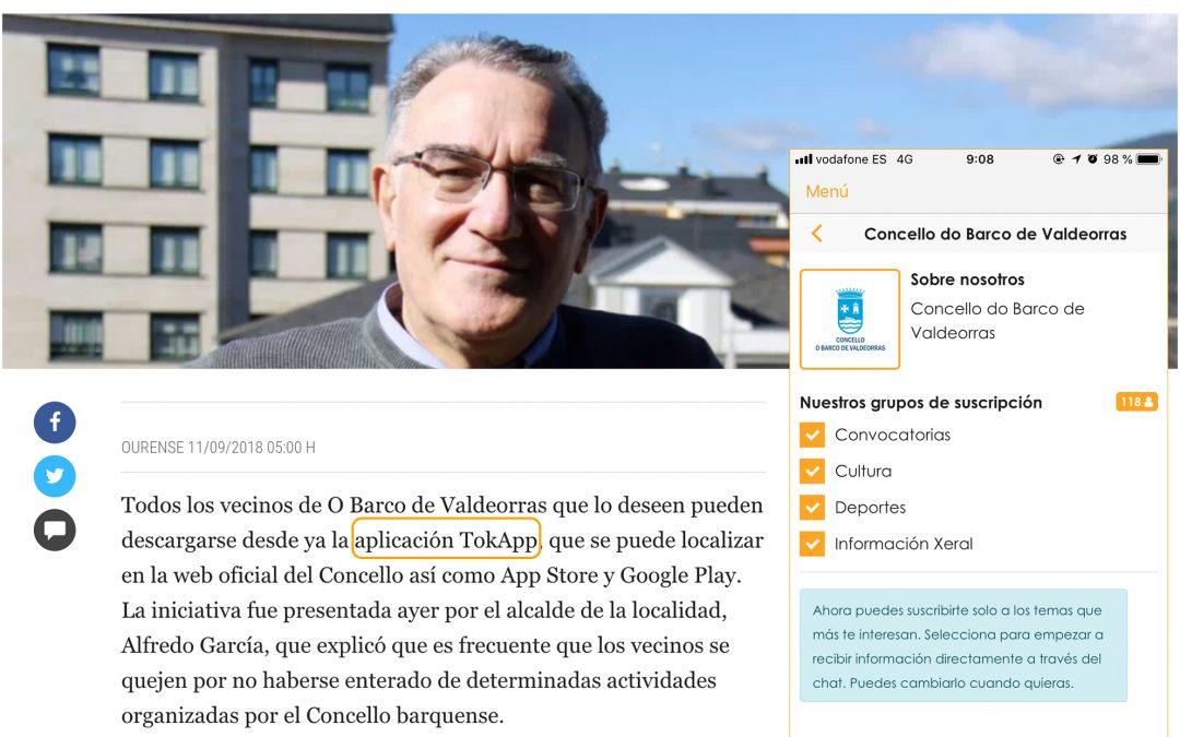TokApp en O Barco