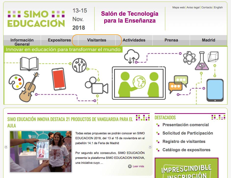 Página Web SIMO