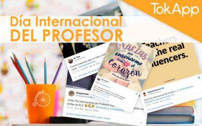 Día Internacional del Maestro: Gracias, profes