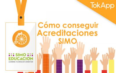 Cómo conseguir acreditación SIMO Educación 2018