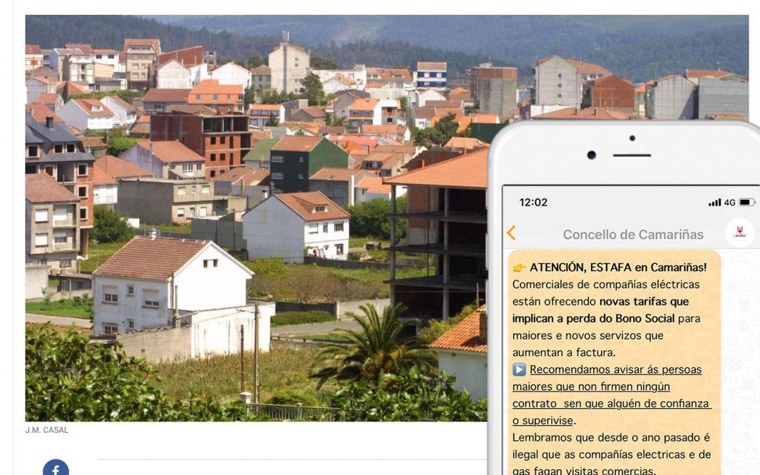 Concello de Camariñas con TokApp