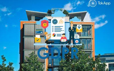 Protección de datos del GDPR para administradores de fincas