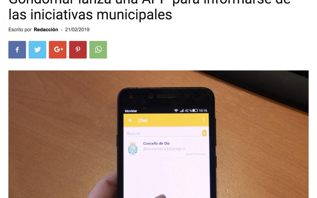Concello de Gondomar con TokApp