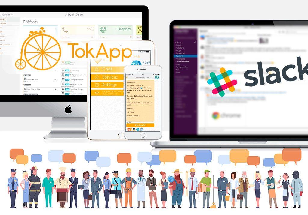slack y tokapp diferencias