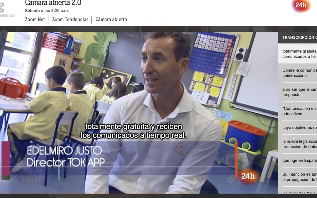 TokApp School en RTVE