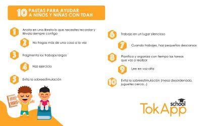 10 pautas para ayudar a niños y niñas con TDAH