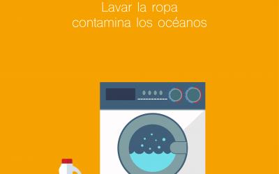 La historia de las microfibras: Lavar la ropa contamina los océanos