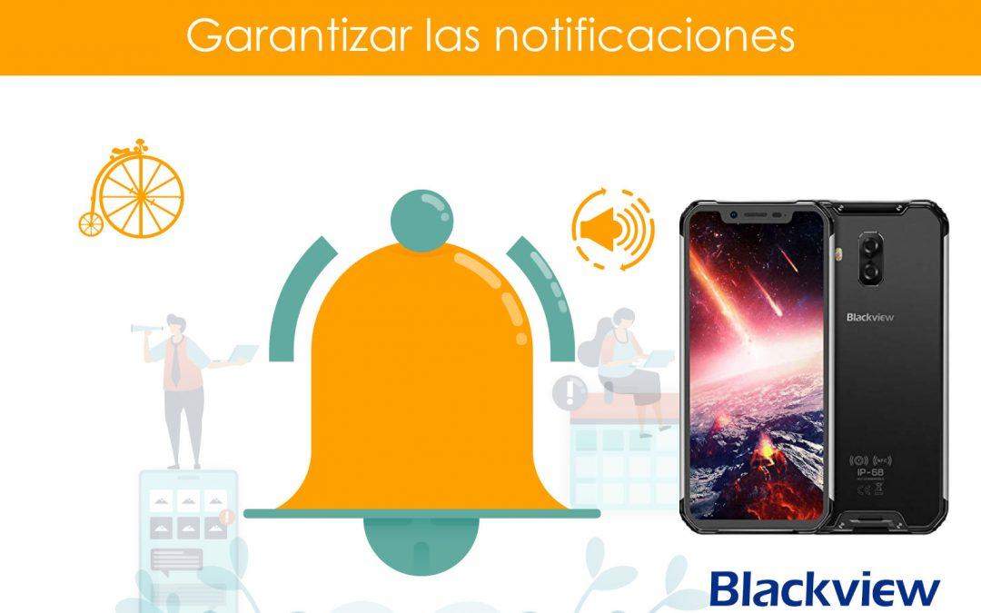 Garantizar notificaciones en teléfonos Blackview / TPLink