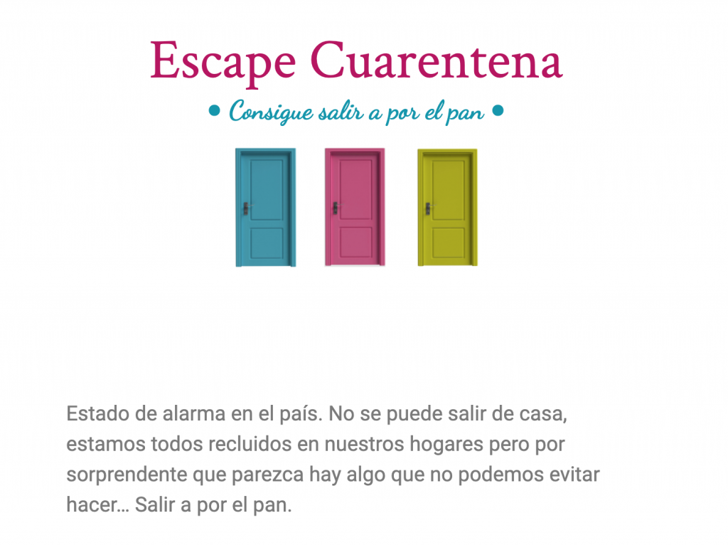 Escape Cuarentena