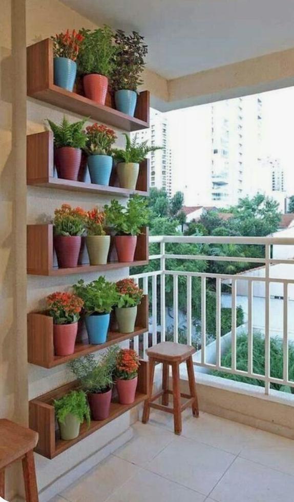 Huerto en el balcón