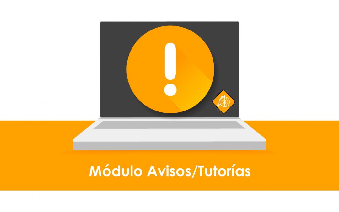 ¡Nuevo Módulo Avisos/Tutorías!
