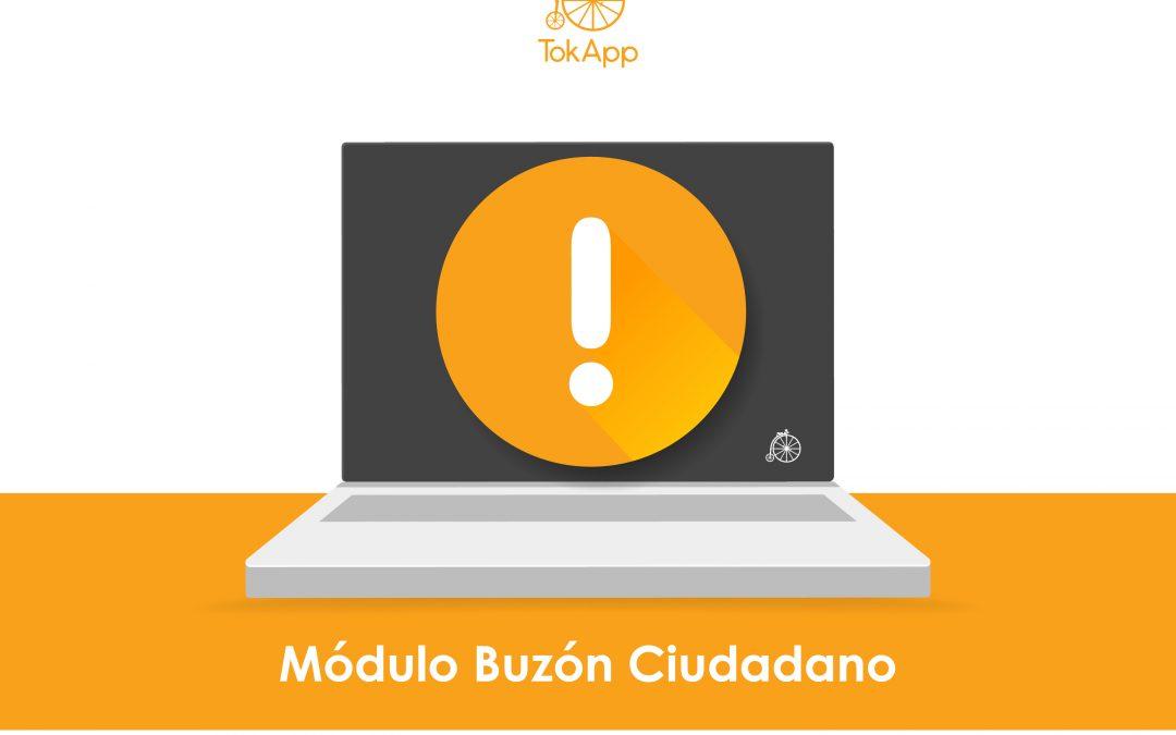 ¡Nuevo Módulo Buzón Ciudadano!