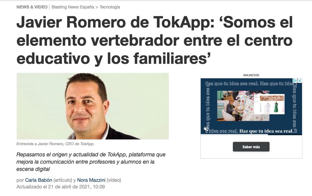 TokApp – Blasting News